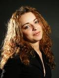 Retrato clássico da mulher Imagens de Stock Royalty Free