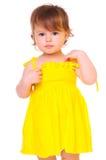 Retrato colorido de una muchacha foto de archivo libre de regalías