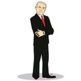 Retrato completo do corpo de homem de negócio experiente Foto de Stock