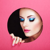 Retrato conceptual da beleza da jovem mulher bonita Foto de Stock Royalty Free