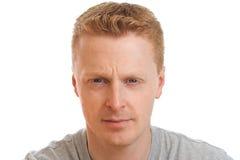Retrato confiável do homem fotografia de stock royalty free