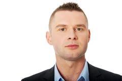Retrato confiável do homem de negócios fotos de stock