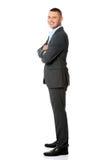 Retrato confiável do homem de negócios imagens de stock royalty free
