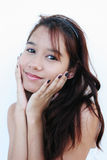 Retrato confidente del adolescente Foto de archivo