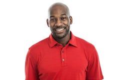 Retrato considerável do homem negro foto de stock royalty free
