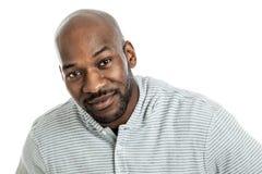 Retrato considerável do homem negro Fotos de Stock Royalty Free