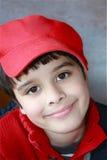 Retrato considerável do menino imagem de stock