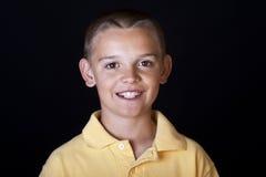 Retrato considerável do menino foto de stock royalty free