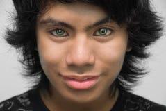 Retrato cosechado del adolescente Imagen de archivo libre de regalías