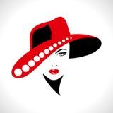 Retrato creativo de las mujeres de la moda,