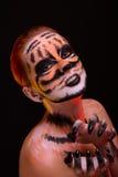 Retrato criativo do close up Imagens de Stock