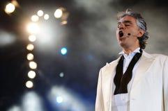 Andrea Bocelli Imagens de Stock
