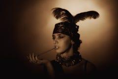 Retrato da arte Imagem de Stock Royalty Free