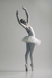 Retrato da bailarina na pose do bailado imagem de stock royalty free