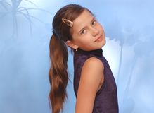 Retrato da beleza Foto de Stock Royalty Free