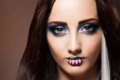 Retrato da beleza americana Imagens de Stock