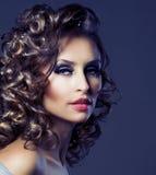 Retrato da beleza da forma Imagem de Stock Royalty Free
