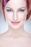 Retrato da beleza da mulher Imagem de Stock