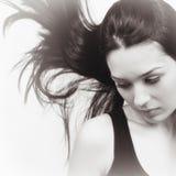 Retrato da beleza da mulher elegante sensual Imagem de Stock Royalty Free