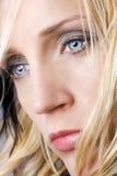 Retrato da beleza da mulher nova Fotos de Stock