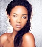 Retrato da beleza da mulher sensual fotos de stock royalty free
