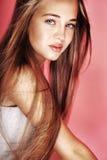Retrato da beleza da rapariga Foto de Stock Royalty Free