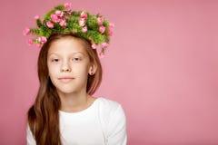 Retrato da beleza da rapariga Fotos de Stock