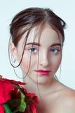 Retrato da beleza da rapariga E r Fotos de Stock Royalty Free
