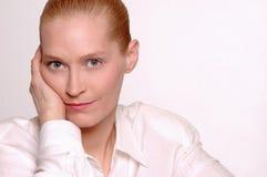 Retrato da beleza do negócio Imagens de Stock Royalty Free