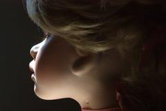 Retrato da boneca da porcelana Fotografia de Stock Royalty Free