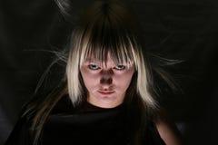 Retrato da bruxa Fotos de Stock