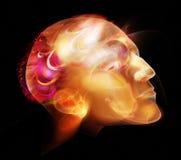 Retrato da cabeça do homem ilustração do vetor