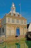 Retrato da casa feita sob encomenda Foto de Stock Royalty Free