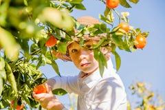 Retrato da colheita nova bonito atrativa do menino Imagens de Stock