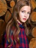 Retrato da criança bonita foto de stock royalty free