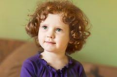 Retrato da criança charming fotografia de stock royalty free