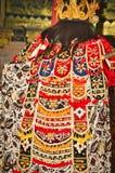 Retrato da dan?a de Jauk uma dan?a tradicional do Balinese, Indon?sia imagens de stock