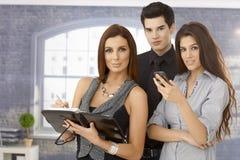 Retrato da equipe nova do negócio Fotografia de Stock Royalty Free