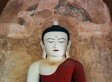 Retrato da estátua da Buda em Myanmar Fotos de Stock