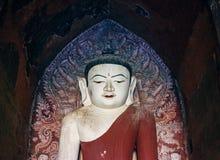 Retrato da estátua da Buda em Myanmar Foto de Stock Royalty Free