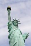 Retrato da estátua de liberdade Imagem de Stock