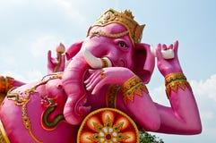 Retrato da estátua do ganesha fotografia de stock