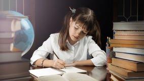 Retrato da estudante esperta Foto de Stock