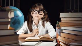 Retrato da estudante esperta Imagens de Stock Royalty Free