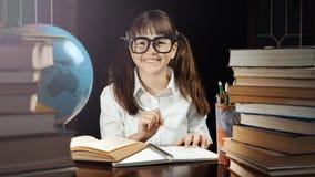 Retrato da estudante esperta Fotografia de Stock Royalty Free