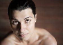 Retrato da fêmea fotografia de stock royalty free