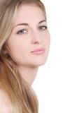 Retrato da fêmea da beleza Fotografia de Stock