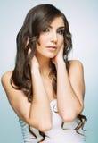 Retrato da fêmea do estilo da beleza Imagem de Stock Royalty Free