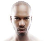 Retrato da fôrma de um modelo masculino Imagem de Stock Royalty Free