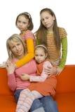 Retrato da família Imagens de Stock